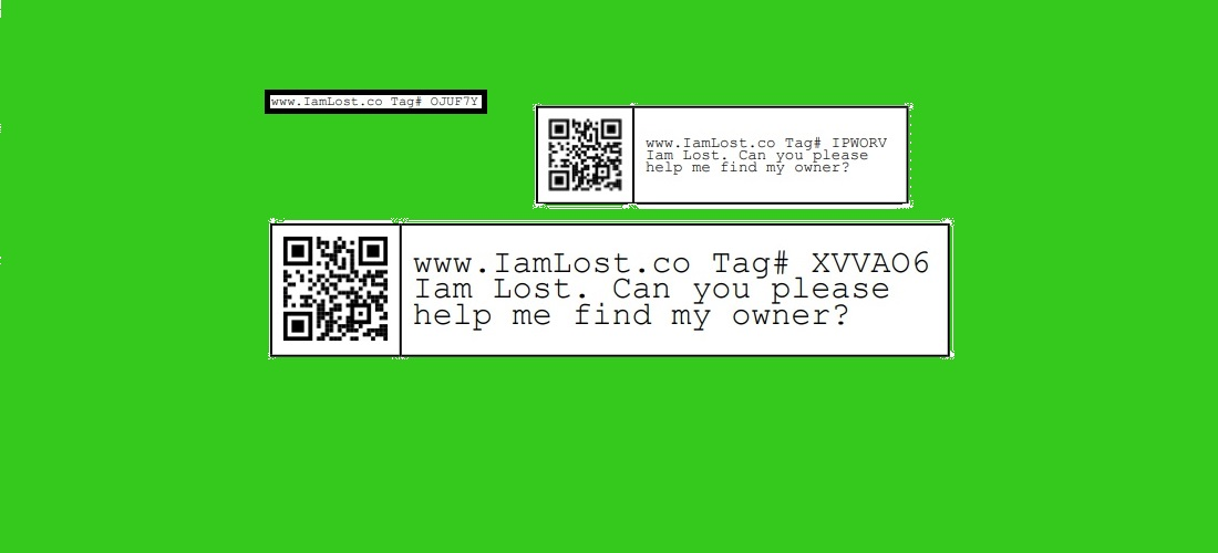IamLost.co free tags can be used to receive items that you might lose as people can contact you with the unique tag Id while protecting your privacy